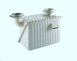 BK G 40-Membránový plynoměr.  Qmin=0,4m3/h,Qmax=65m3/h,PN 0,5bar,DN80, rozteč 510mm, vertikální poloha