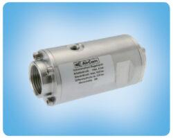 QE32-10NR-hadicový ventil serie 10, DN32,G 5/4, tlak media max. 4 bar, br ovládací tlak max. 2,5 baru nad tlakem media