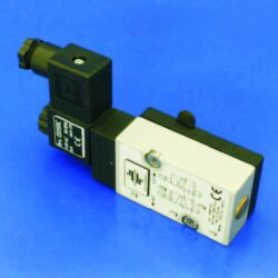 MNF532                                                                          -NAMUR ventil  elektropneumatický univerzální 5/2 a 3/2 cestnýbr DN5,5, G1/4, 24V AC, 5VA, IP 65, 2-10 bar, 950l/min