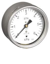 03369                                                                           -Membránový tlakoměr s krabicovou membránou a zadním přípojem.br 03369 M12x1,5