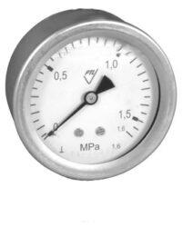 03358 - CHV                                                                     -Celonerezový, vodotěsný tlakoměr se zadním přípojem.br 03358 - CHV G1/4