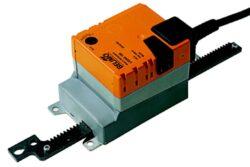 LH..A-Lineární pohony typové řady LH..A s připojovacím kabelem nebo svorkami pro klapky a šoupata