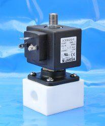 DL4T-2/2 elektromagnetický ventil-přímo ovládaný DN4;br 230V AC,G1/4,0-1,5bar,NC,Tmax.+75°Cbr medium je dokonale odděleno od jádra a vedení ventilubr konektor není součástí balení ventilu