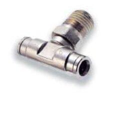 101670618-přímé šroubení R1/8, na hadicu vnějš.pr.6mm, PUSH-IN řada 10 Pmax.18 bar , O kroužky bez silikonu