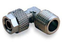 241451028-úhlové šroubení s vnějším závitem R1/4, na hadicu 10/8 PUSH-ON