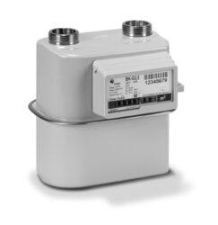 BK G 4 V1,2 rozteč 100mm-Membránový plynoměr. Qmin 0,016m3/h; Qmax 6 m3/h; PN 0,5 bar; rozteč 100mm