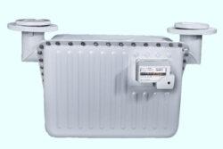 BK G 65-Membránový plynoměr.  Qmin=0,65m3/h,Qmax=100m3/h,PN 0,5bar,DN80, rozteč 640mm, vertikální poloha