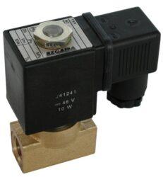 2VE6DF-Elekromag. ventil G1/4, bez cívky, světlost 6mm, standardní napětí - 230V AC, 24V DC, pracovní tlak: min. 0,05 bar, max. 16 bar (T 125°C, Pmax. 6 bar)