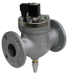 2VE50DBB-Elektromag. ventil přírubový, 230V AC, světlost 50mm, pracovní tlak: min. 1bar, max. 10bar,  standardní napětí - 230V AC, 24V AC, 24V DC