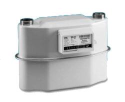BK G4 V2,0 rozteč 250mm-Membránový plynoměr. Qmin 0,04m3/h; Qmax 6 m3/h; PN 0,5 bar; rozteč 250mm