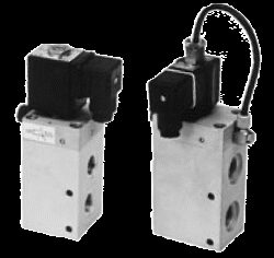 3VE10DIF-3/2 elektropneumaticky ovládaný ventil G3/8,  světlost 10 mm, pracovní tlak 2-10 bar, 230V