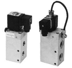 3VE16DF-3/2 elektropneumaticky ovládaný ventil G1/2,  světlost 16 mm, pracovní tlak 2-10 bar, 24V