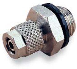 242250605-Přímé šroubení s vnějším závitem M5, na hadicu 6/4 PUSH-ON