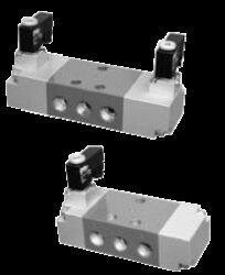 OSV10E-5/2-cestný elektropneu. ventil G3/8 monostabil, bez cívky, světlost 10mm, 3,5-10 bar