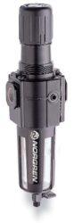 B74G-4GK-QP3-RMN-filtr-regulátor G1/2, tlakový rozsah 0,3-10 bar, vložka 40 µm,ruční vypouštění kondenzátu, s přetlakovým jištěním, bez manometru