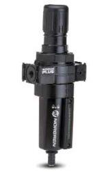 B64G-4AK-MD3-RMN                                                                -filtr-regulátor 1/2 PTF, tlakový rozsah 0,3-10 bar, vložka 40 µm,ruční vypouštění kondenzátu, s přetlakovým jištěním
