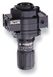 R64G-4AK-RMN-regulátor tlaku vzduchu 1/2 PTF,rozsah nast.0,3-10 bar s přetlakovým jištěním, Pmax.17 bar