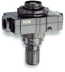 R68G-8GK-RLN                                                                    -regulátor tlaku vzduchu G1, rozsah nast.0,4-8 bar s přetlakovým jištěním, Pmax.20 bar, bez manometru