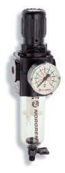 B73G-2GK-QT3-RMN-filtr-regulátor 1/2 PTF, tlakový rozsah 0,3-10 bar, vložka 40 µm,ruční vypouštění kondenzátu, s přetlakovým jištěním, bez manometru