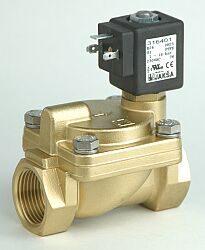 B26                                                                             -2/2 elektromagnetický ventil - nepřímo ovládaný  DN25; 230V AC, G1, NC, 1-20bar, Tmax.+90°C ventil bez konektoru DIN43650 A