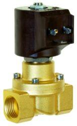 8416                                                                            -2/2 elektromagnetický ventil - nuceně ovládaný, DN25, G1, 24V AC, 0 - 4bar, NC, Tmax.+90°C konektor je součástí balení ventilu