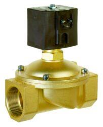 8417                                                                            -2/2 elektromagnetický ventil - nuceně ovládaný, DN36, G5/4, 230V AC, 0 - 4bar, NC, Tmax.+90°C konektor je součástí balení ventilu