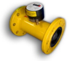 ATPE G 160-Turbínový plynoměr.  Qmin=12,5m3/h,Qmax=250m3/h, DN 80, PN 40bar