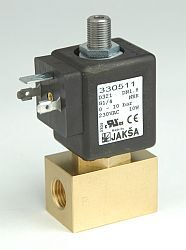 D320                                                                            -3/2 elektromagnetický ventil - přímo ovládaný DN1,4 ; 24V DC, G1/4, 0 - 16bar, NC, Tmax.+130°C konektor není součástí balení ventilu
