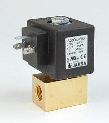 D224                                                                            -2/2 elektromagnetický ventil-přímo ovládaný DN7,48V DC,G3/8,0-7bar,NC,Tmax.90°C konektor není součástí balení ventilu
