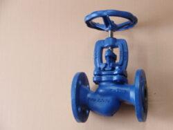 uz.ventil  V30 111 616,DN-20,PN-16.-Uzavírací ventil -přírubový, typ: V30 111 616,DN-20,PN-16,voda,(Fig.215).