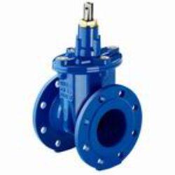 šoupátko přírubové -víkové typ: EKO-PLUS 001,DN-80(4díry),PN-10/16, pitná voda.-Šoupátko přírubové -víkové s volným koncem ,typ: EKO-PLUS 001,DN-80,PN10/16, pro médium  PITNÁ voda.