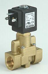 B27                                                                             -2/2 elektromagnetický ventil-nepřímo ovládaný  DN10; 24V DC, G1/2, NC 0,3-50bar Tmax.+100°C, bez konektoru DIN 43650A