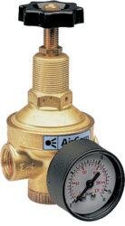 R280-04BO                                                                       -regulátor tlaku vzduchu G1/2, rozsah nast.0,2-6 bar s přetlakovým jištěním, Pmax.40 bar, s manometrem