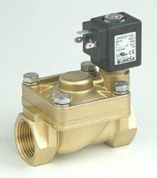 M263-pro páru                                                                   -2/2 elektromagnetický ventil - nepřímo ovládaný, DN18,5; G1, 24V DC, 0,5-9bar, NC, Tmax.+180°C konektor není součástí balení ventilu