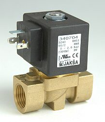 D240G                                                                           -2/2 elektromagnetický ventil-přímo ovládaný DN10,230V AC,G1/2,0-0,8 bar,NC,Tmax.60°C konektor není součástí balení ventilu