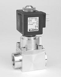 B4N                                                                             -2/2 elektromagnetický ventil - nepřímo ovládaný  DN15; 24V AC, G1/2,NC 1-120bar Tmax.+90°C, bez konektoru DIN 43650A