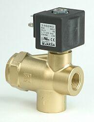 BS4                                                                             -2/2 elektromagnetický ventil-nepřímo ovládaný  DN12; 230V AC, G1/2,NC 1,7-120bar, Tmax.+90°C ventil bez konektoru DIN 43650A