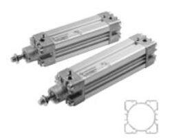PRA/182040/M/150                                                                -pneumatický válec dvojčinný profilový pr.40mm, zdvih 150mm,magnetický píst nastavitelné tlumení , připojení ovl.vzduchu G1/4, provedení dle ISO 15552, ISO 6431,VDMA 24562 a NFE 49-003-1
