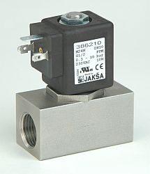 M24N                                                                            -2/2 elektromagnetický ventil - nepřímo ovládaný DN10; G1/2, 230V AC, 0,3 - 12 bar, NC, Tmax.+100°C konektor není součástí balení ventilu