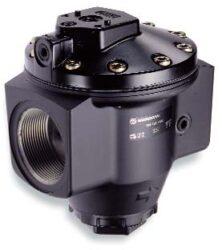 R18-C00-RNXD-regulátor tlaku vzduchu G2, rozsah nast.0,16-17 bar s přetlakovým jištěním, Pmax.31 bar, bez manometru