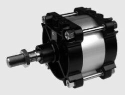 Pneumatický válec dvojčinný ISO 15552-průměr 160 mm, zdvih 400mm,s nastavitelným tlumením koncových poloh, s magnetickým pístem