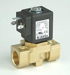 M24K NO                                                                         -2/2 elektromagnetický ventil - nepřímo ovládaný DN10; G1/2, 230V AC, 0,3 - 12 bar, NO, Tmax.+130°C konektor není součástí balení ventilu