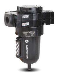 F68G-BGN-MR3                                                                    -filtr mechanických nečistot a odlučovač kondenzátu G6/4,  vložka 40 µm, nádobka 0,5 l s indikátorem hladiny, ruční odpouštění kondenzátu