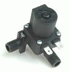 1090                                                                            -2/2 elektromagnetický ventil-nepřímo ovládaný DN5,5 ,230V AC, M12x1vnější 90°, 0,3-10bar,NC, Tmax.90°C konektor není součástí balení ventilu