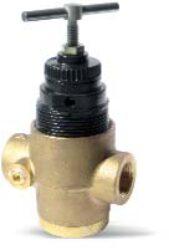 R43-406-NNEG                                                                    -regulátor tlaku vody a vzduchu G1/2, rozsah nast.0,3-8,6 bar bez přetlakového jištění, Pmax.31 bar, bez manometru