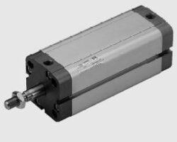 Pneuválec dvojčinný serie CMPC dle VDMA 24562-průměr 100 mm, zdvih 100mm,s průběžnou pístnicí