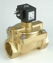 B27                                                                             -2/2 elektromagnetický ventil-nepřímo ovládaný  DN40; 230V AC, G 6/4, NC, 2 - 50bar Tmax.+90°C