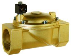 8721                                                                            -2/2 elektromagnetický ventil - nepřímo ovládaný, DN75, 230V AC, G3, 0,3 - 10bar, NO,  Tmax.+90°C včetně konektoru DIN 43 650 FORM A