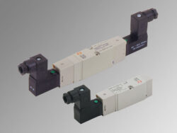 MSV D5 SOS 00 24VDC-5/2 elektropneumatický ventil monostabil, MACH18, 24V DC, 1W, 1,9-10 bar