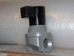 """BPV-DN50-Rp 2"""",PN16, 230V 50Hz.-Bezpečnostní přímočinný uzávěr plynu, Rp 2 (DN-50), PN-16, závitový, bez napětí UZAVŘEN (NC) , pracovní přetlak: 0 - 20 kPa , provedení- SOLO, 230V 50Hz, prostředí obyčejné . Pracovní poloha: vodorovná a svislá."""